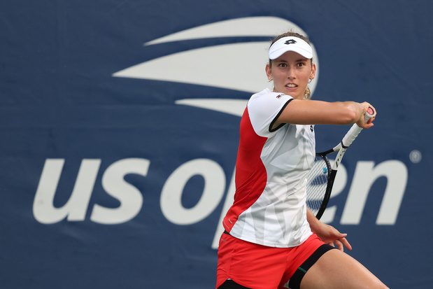 Elise Mertens met moeite naar tweede ronde in US Open