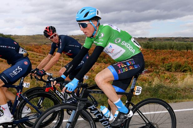 Dan Martin wint derde etappe in de Vuelta, Roglic blijft leider