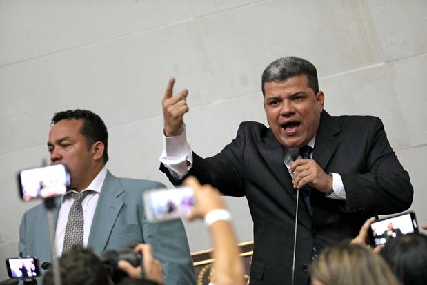 Venezuela: Dissident oppositielid roept zichzelf uit tot parlementsvoorzitter