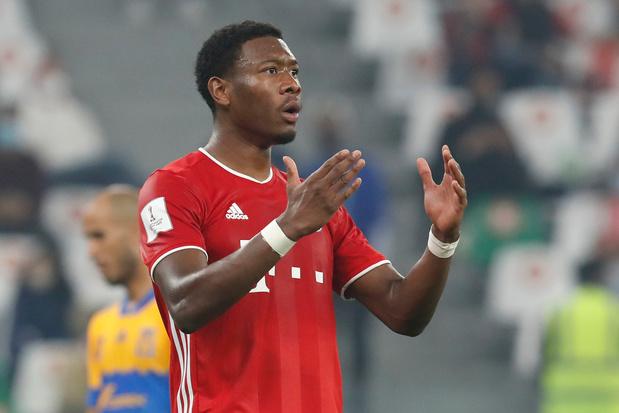 Alaba kondigt afscheid bij Bayern München aan