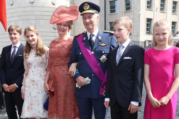 Traditionnel Te Deum pour la famille royale, à Bruxelles pour Philippe, à Bruges pour Laurent, à Namur pour Astrid