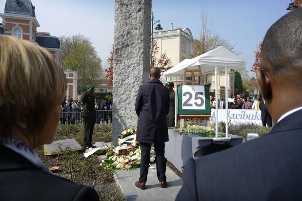 Ruim 300 mensen herdenken Rwandese genocide in Brussel