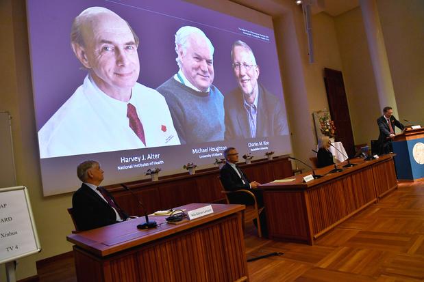 Nobelprijs Geneeskunde naar trio voor ontdekking hepatitis C-virus