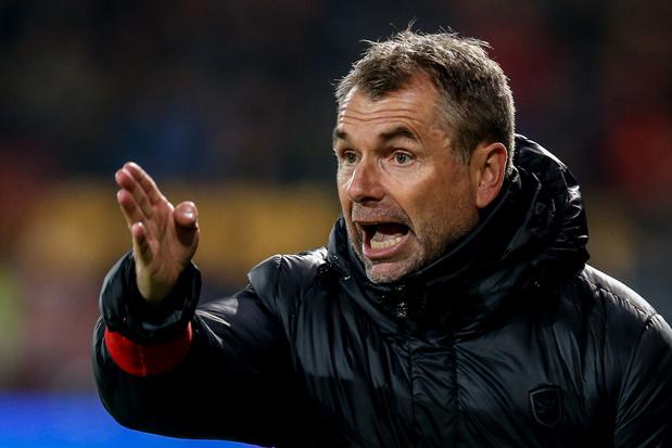 Bernd Hollerbach n'est plus l'entraîneur de Mouscron
