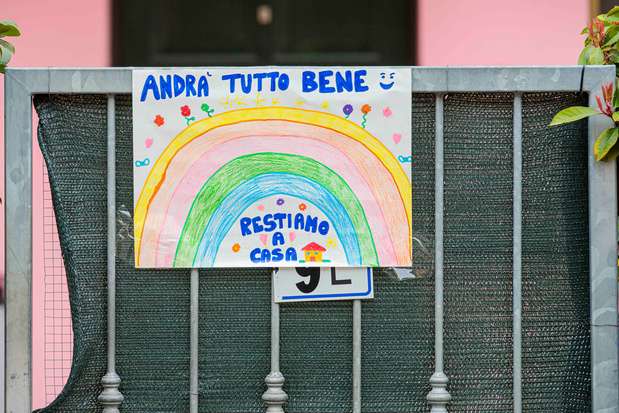 """22 mars, Italie, 13 jours de confinement: la Belgique va-t-elle """" back to the future """"?"""