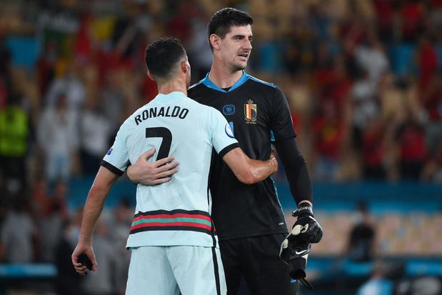 Ronaldo tegen Courtois: 'Jullie hadden geluk, he'
