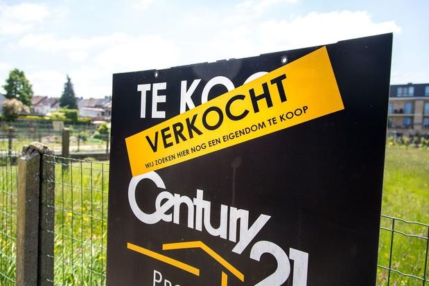 Belgische woningen 10.000 euro duurder in één jaar tijd
