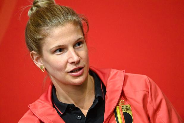 """Justine Vanhaevermaet (Red Flames): """"On peut dépasser la Norvège d'ici quelques années"""""""