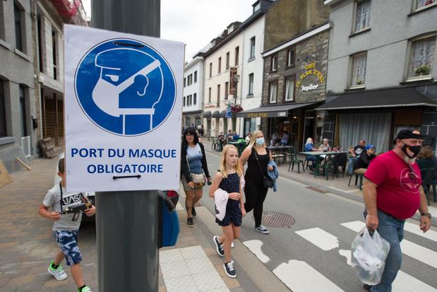 La Ville de Charleroi impose le port du masque sur l'ensemble de son territoire