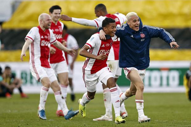 Ajax pakt beker tegen Vitesse