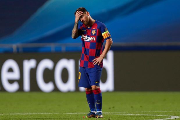 Vader Messi bij aankomst in Barcelona: 'Ik weet niets, jongens'