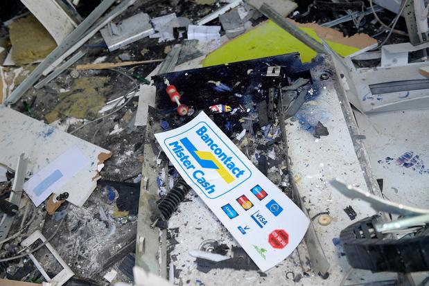 Déjà 22 attaques à l'explosif sur des distributeurs de billets en 2019