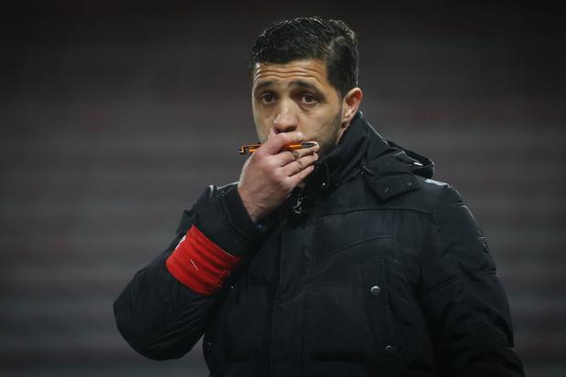 Karim Belhocine op straat gezet door Charleroi