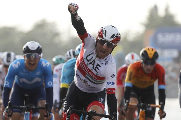 Diego Ulissi boekt tweede zege in rit 13 van de Giro