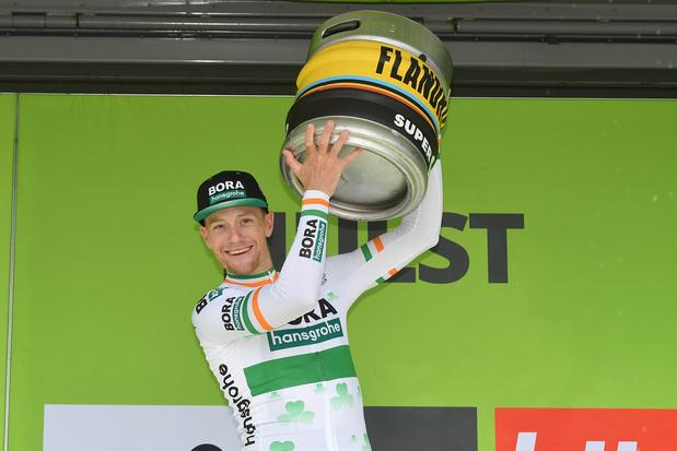 Sam Bennett wint eerste rit Binckbank Tour voor Theuns