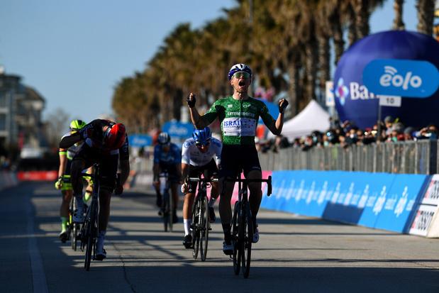 Tirreno-Adriatico: Würtz Schmidt wint zesde rit, Van Moer grijpt nipt naast eerste profzege