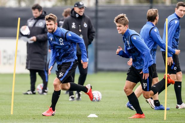 Ligue des champions: le Club Bruges reçoit la Lazio avec l'objectif de confirmer ses bons débuts européens