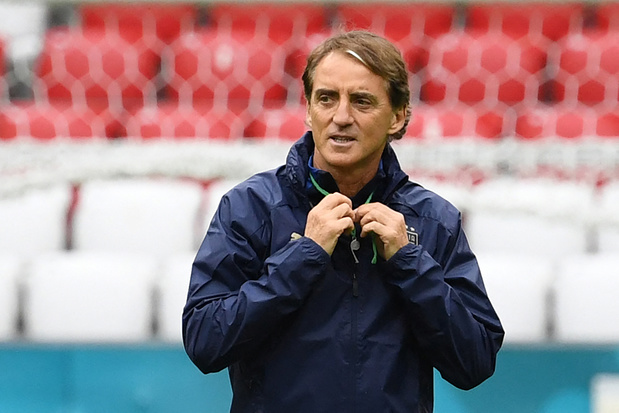 Italiaans bondscoach Mancini over Rode Duivels: 'Veel respect, maar zullen eigen spel spelen'