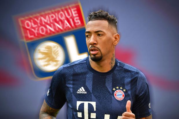 Jérôme Boateng et son riche palmarès devraient épauler Jason Denayer dans la défense de Lyon