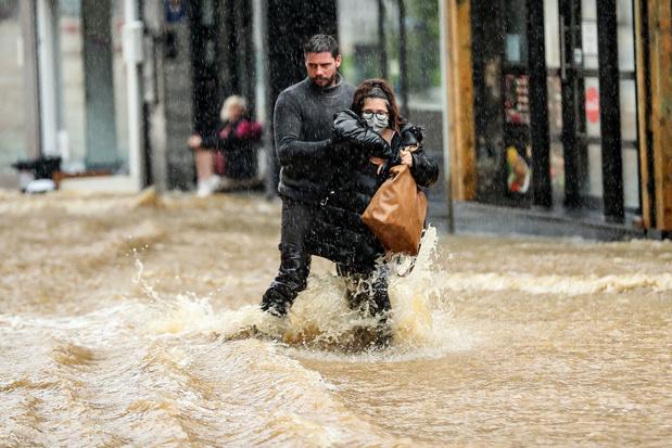 Le mois de juillet le plus humide enregistré depuis 40 ans à Uccle
