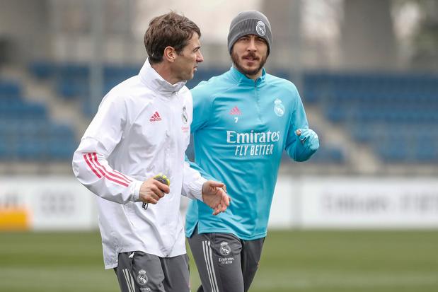 Goed nieuws uit Madrid: Eden Hazard traint opnieuw mee bij Real