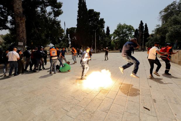 Gewonden bij botsingen tussen Palestijnen en Israëlische politie op Tempelberg