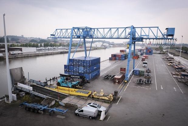 Légère hausse du trafic au port de Bruxelles en 2020