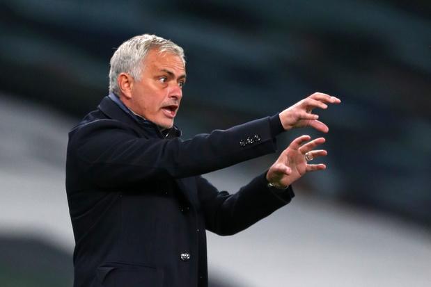 """Antwerp-Tottenham: José Mourinho se réjouit de revoir avec son """"vieil ami"""" Luciano D'Onofrio"""