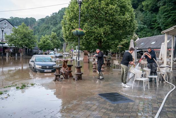 Inondations: plus de 2.000 habitations touchées en province de Luxembourg