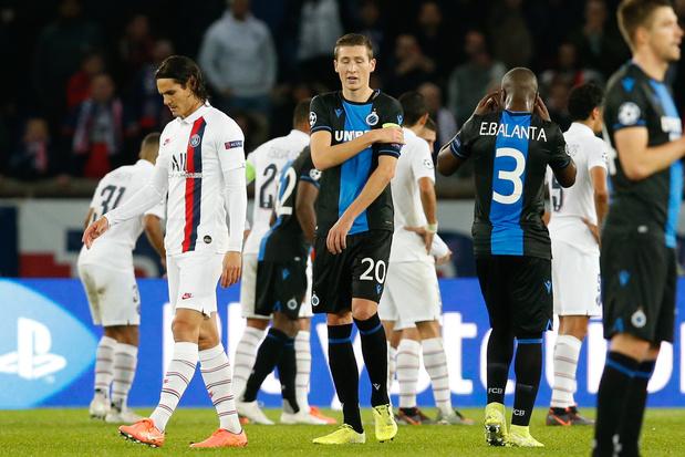 Penalty manqué, occasions galvaudées: Bruges méritait (beaucoup) mieux face au PSG