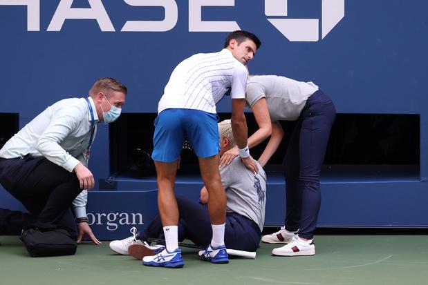 Onze sportmomenten van 2020: toen Djokovic de US Open moest verlaten
