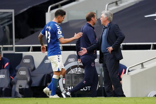 Hoe Carlo Ancelotti en James Rodriguez het imago van Everton veranderden