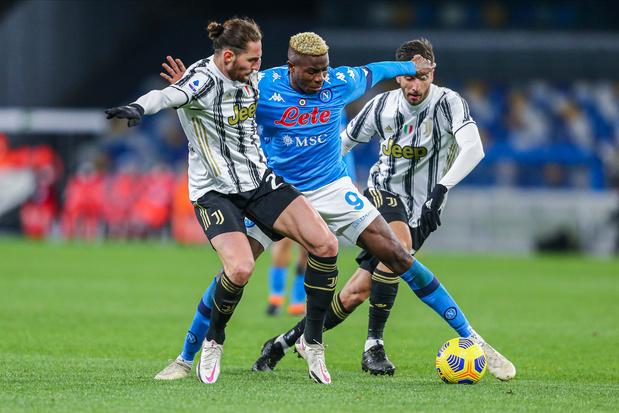 Juventus-Napoli: van titelstrijd naar vechten om Champions Leaguetickets