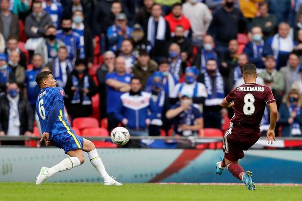 Leicester wint spannende FA Cup-finale tegen Chelsea