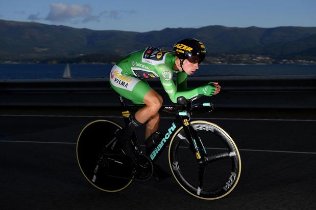 Vuelta: Roglic wint tijdrit en neemt opnieuw leiderstrui over