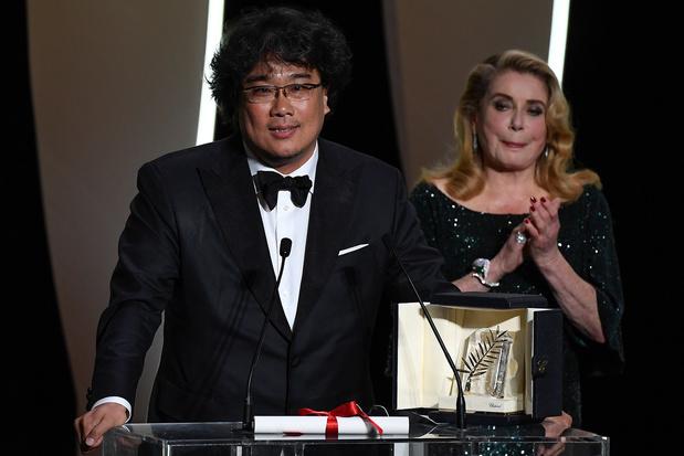 """Cannes: la Palme d'or attribuée à """"Parasite"""" du Sud-Coréen Bong Joon-Ho"""