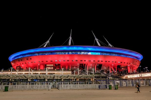 Le premier match des Diables à l'Euro dans un stade à moitié rempli?