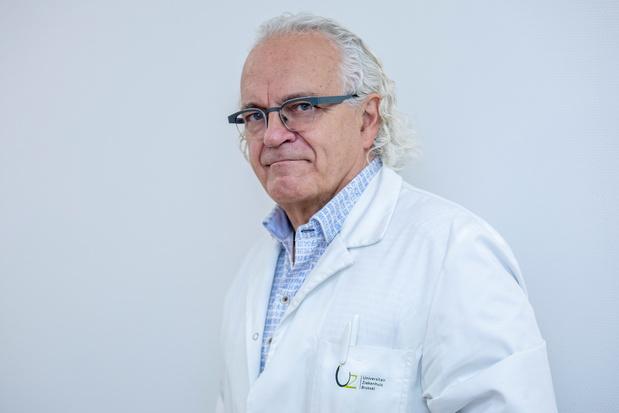 """Marc Noppen, directeur général de l'hôpital UZ Brussel: """"On n'a pas tiré assez de leçons des erreurs de la 1ère vague"""""""