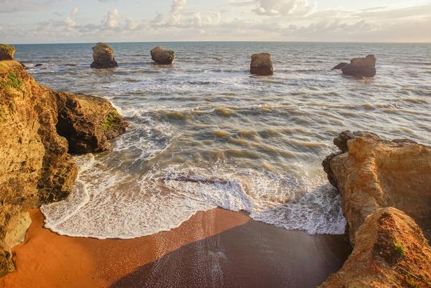 A la plage: de 140 km stranden en baaien van de Vendée