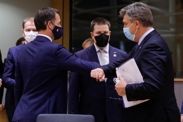 Europese leiders sluiten 'intense' eerste dag van top af