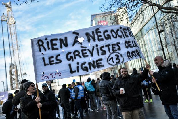Conflit social en France: réveillon dans un climat de grève persistante