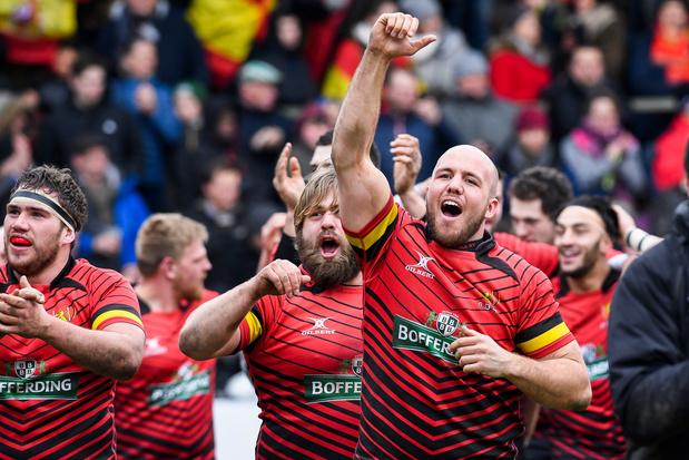 """Le rugby belge vise le Mondial 2023: """"C'est atteignable, mais..."""""""