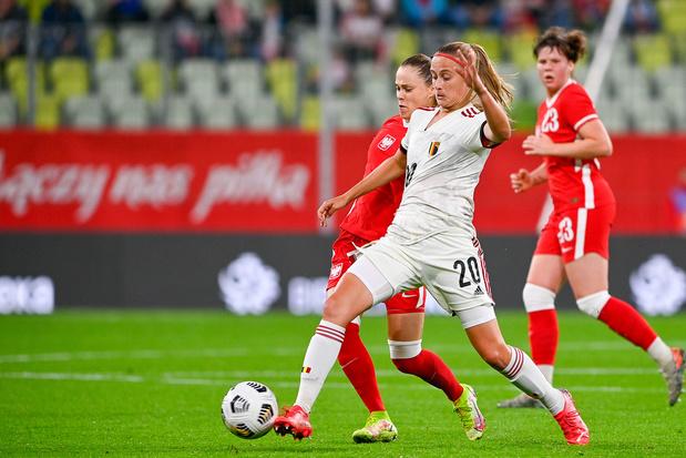 Julie Biesmans (Red Flames): 'We missen misschien nog een beetje lef'