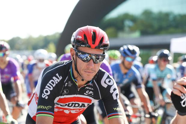 Forfait, Philippe Gilbert ne disputera pas le Tour des Flandres et Paris-Roubaix
