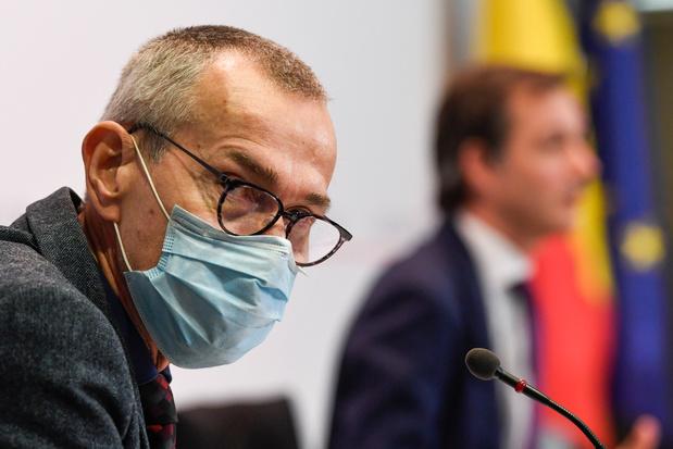 Frank Vandenbroucke fait part de son inquiétude concernant la situation actuelle