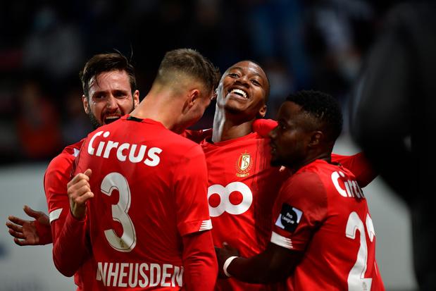 Le Standard a infligé sa première défaite de la saison à Charleroi