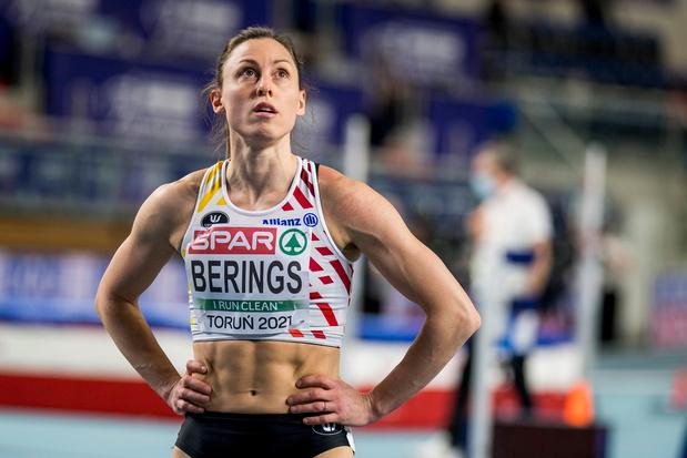 Berings test positief op corona en moet passen voor halve finale 60 m horden op EK indoor