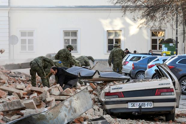 Croatie: Cinq morts dans un séisme de magnitude 6,4