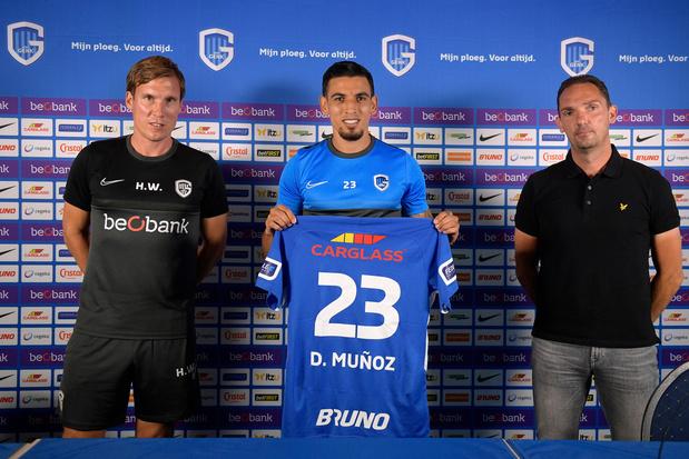KRC Genk stelt Daniel Muñoz voor