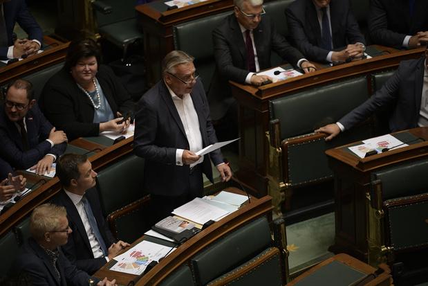 Dries Van Langenhove ne monte pas au perchoir de la Chambre